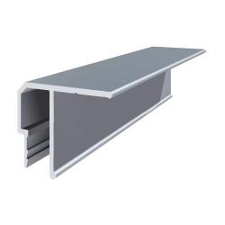 Багет потолочный алюминиевый