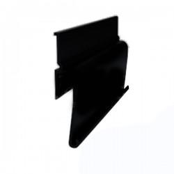 Профиль алюминиевый теневой ПФ 7206 черный