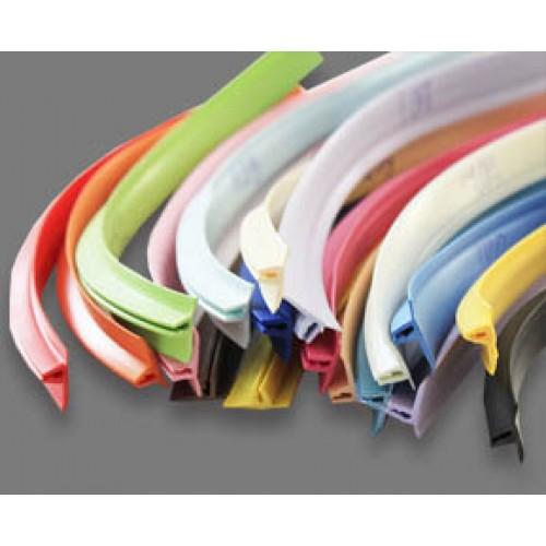 ПВХ накладка - Лента маскировочная Вставка (Т-образная) цветная в ассортименте
