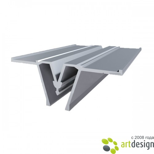 Багет алюминиевый - Багет алюминиевый разделительный