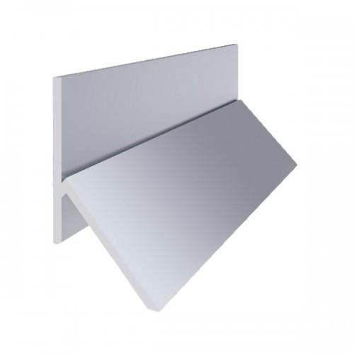 Багет - Отбойник Y-образный алюминиевый 2,5 м
